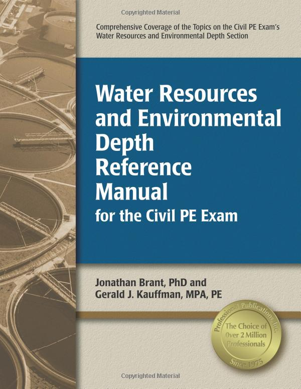 Water Resources and Environmental Depth Reference Manual