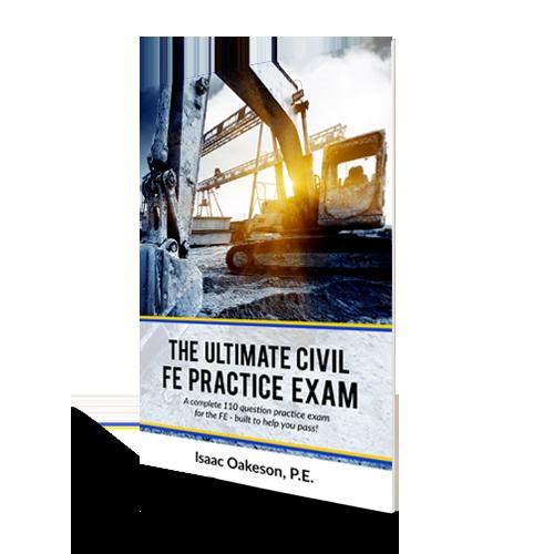 Fe exam civil engineering academy the ultimate civil fe practice exam fandeluxe Choice Image
