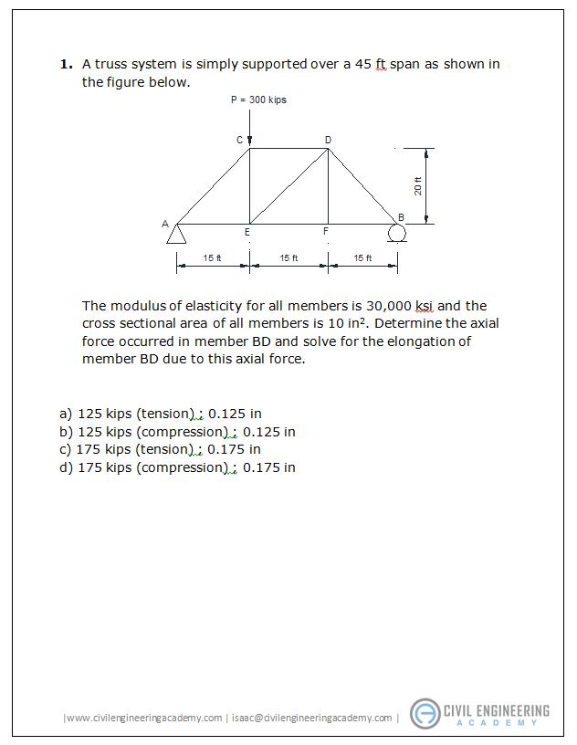 Pe Exam Questions