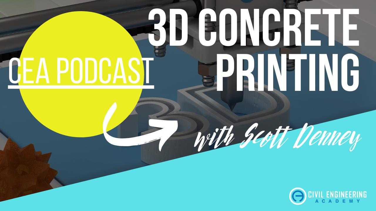 YT Cover - CEA 37 - 3D Concrete Printing - Scott Denney